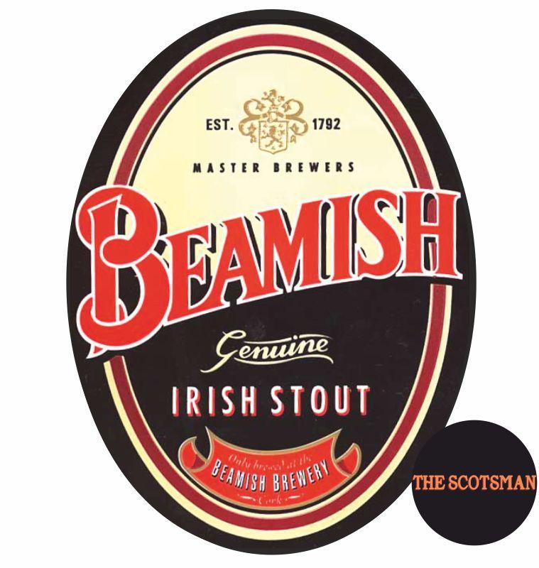 THE SCOTSMAN PUB offerta beamish Irish stout - promozione birreria birre artigianali