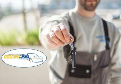 carrozzeria casella offerta riparazione auto preventivo gratuito promozione auto sostitutiva