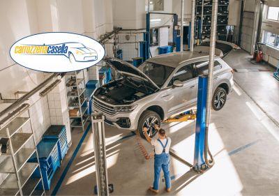 carrozzeria casella offerta riparazione auto multimarca promozione tagliando auto