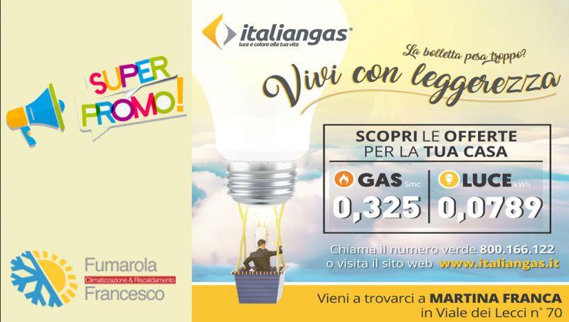 Offerta bolletta luce italiangas taranto - promo italiangas contratto gas luce taranto