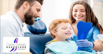 centro dentale sassolese offerta dentista per bambini occasione studio dentistico a sassuolo
