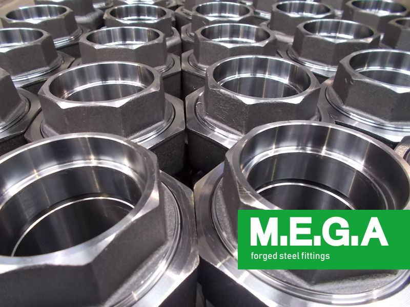 MEGA spa offerta raccordi B16.11 - promozione raccordi in materiali metallici