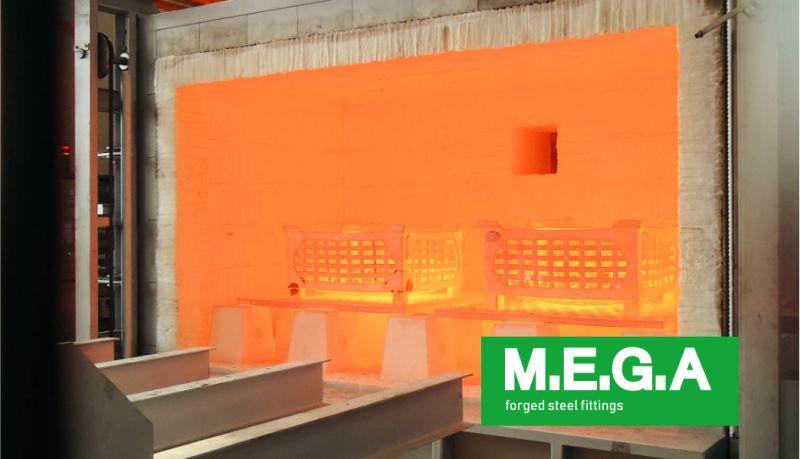 MEGA spa offerta trattamenti termici - promozione forgiatura raccordi a stampo chiuso