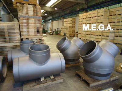 mega spa offerta raccordi ad elevato spessore per centrali energetiche promozione diramazioni flangiate