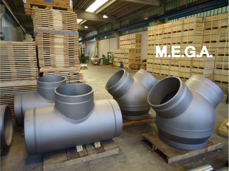 MEGA spa offerta raccordi ad elevato spessore per centrali energetiche - promozione diramazioni flangiate