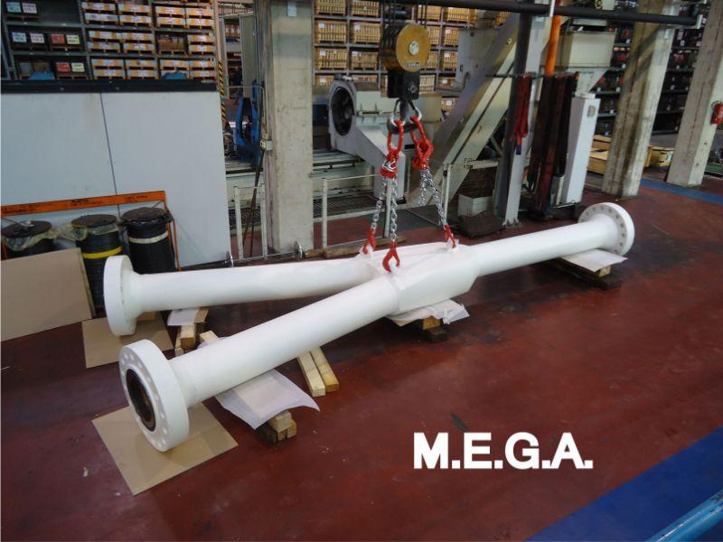 MEGA spa offerta flange di ancoraggio sottomarine – promozione produzione stress joint