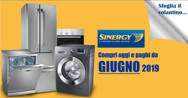 Sinergy di Serra Roberto Sinnai  volantino marzo - offerte grandi elettrodomestici  telefonia