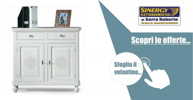Sinergy di Serra Roberto volantino GRUPPO ACS - offerta mobili Sardi in legno massello