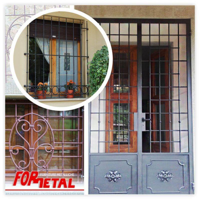 FOR. METAL OFFERTA PRODUZIONE INFERRIATE ARTIGIANALI SAN GIUSTINO - OCCASIONE VENDITA BOX AUTO