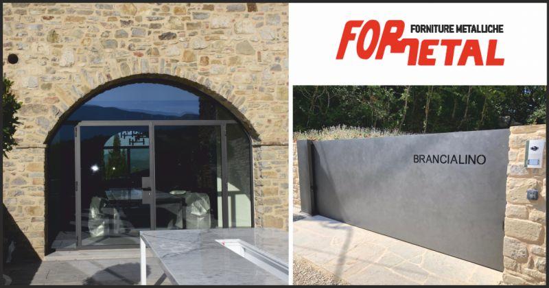 for.metal offerta lavori in ferro battuto - occasione cancelli di sicurezza per edifici perugia