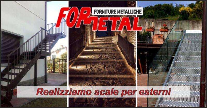 for.metal offerta realizzazione scale esterne - occasione scale esterne in ferro perugia