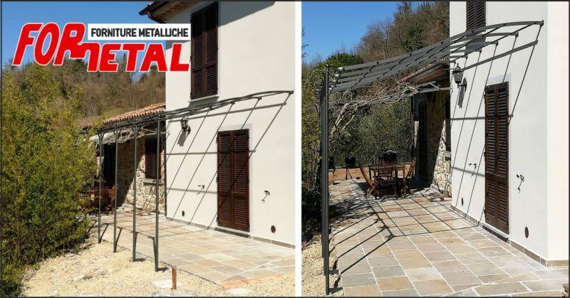 for.metal offerta pergotenda - occasione pergotenda in ferro battuto perugia