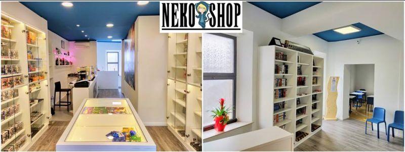 Neko Shop offerta videogiochi - promozione fumetti Macerata