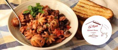 ristorante pizzeria ca rossa offerta cucina italiana promozione ristorante gastronomico
