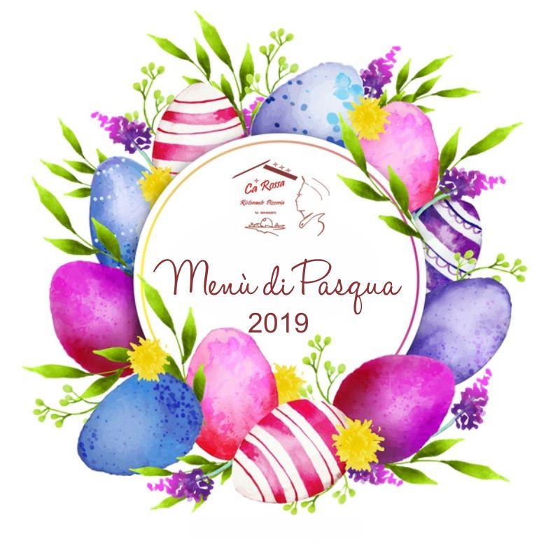 RISTORANTE PIZZERIA CA ROSSA offerta menu di pasqua - promozione pranzo pasquale ristorante