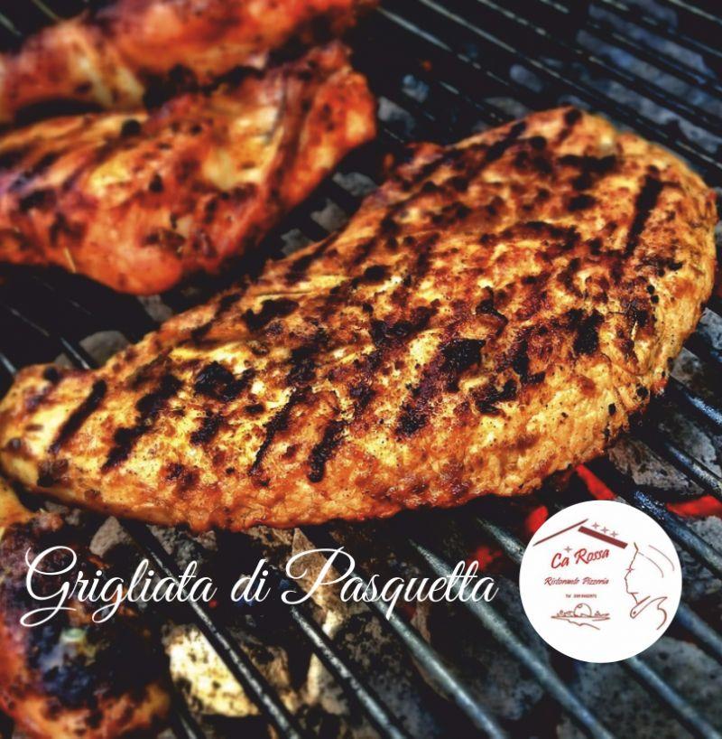 RISTORANTE PIZZERIA CA ROSSA offerta grigliata di pasquetta - brunch seconda di pasqua 2019