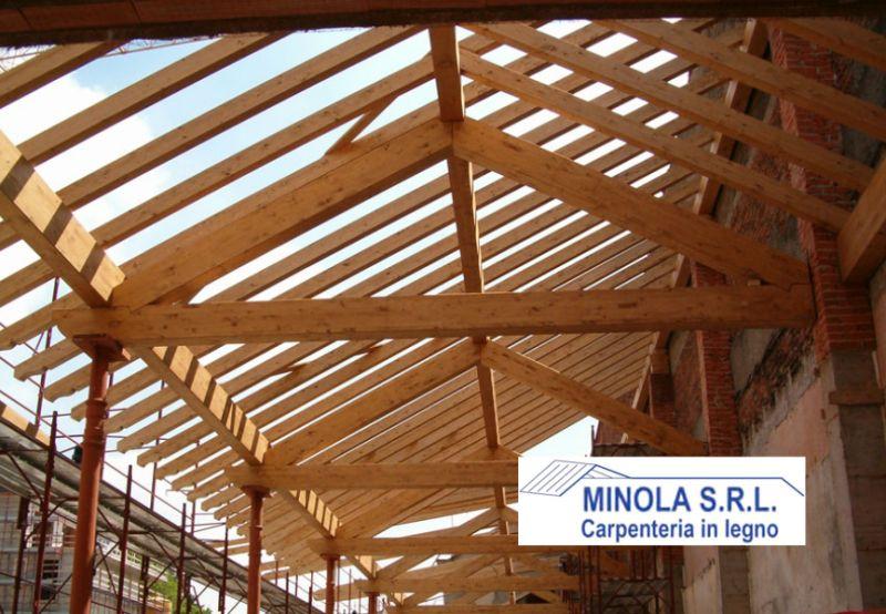 MINOLA SRL offerta progettazione tetti in legno - promozione costruzione solette in legno