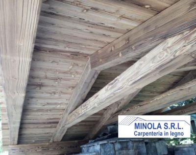 minola srl offerta rifacimento tetti promozione ristrutturazione travi in legno