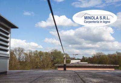 minola srl offerta installazione linee vita tetti progettazione sistemi di sicurezza tetti