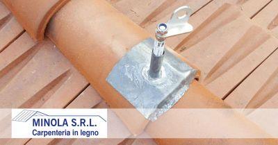carpenteria minola offerta progettazione e installazione linee vita promozione installazione sistemi anticaduta
