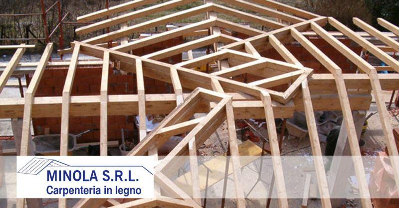 Carpenteria Minola – offerta ristrutturazione di tetti e tettoie in legno – promozione tetti in legno interventi strutturali
