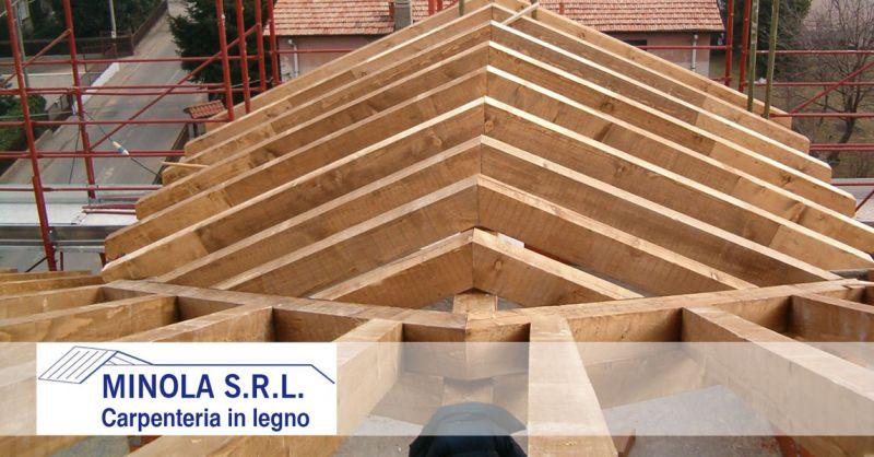 Carpenteria Minola – offerta costruzione tetti e solette in legno – promozione lavorazioni di carpenteria in legno su misura