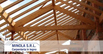 carpenteria minola offerta posa di tetti mansardati in legno promozione fornitura guaine traspiranti