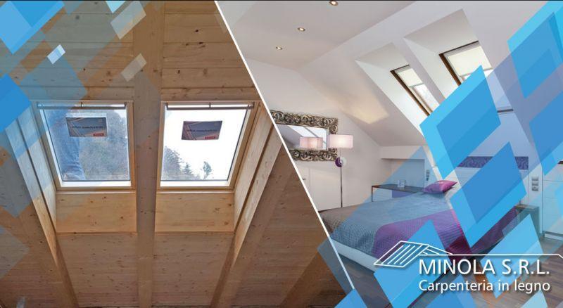 Carpenteria Minola - offerta costruzione tetti mansardati in legno como - occasione progettazione tetti mansardati in legno como