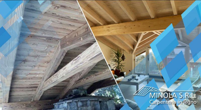 Carpenteria Minola - occasione rifacimento tetti e tettoie in legno como - promozione ristrutturazioni tetti e tettoie in legno como