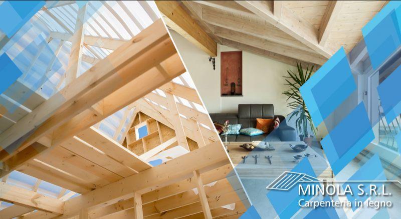Carpenteria Minola - offerta progettazione e realizzazione tetti in legno completi como - occasione tetti in legno chiavi in mano como