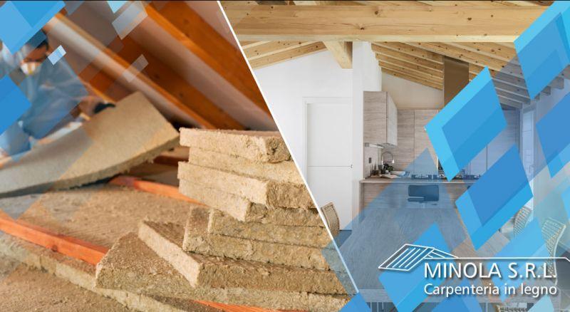 Carpenteria Minola - occasione realizzazione tetti in legno coibentati como - promozione tetti in legno risparmio energetico como