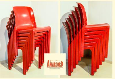 amarcord offerta sedie selene vico magistretti artemide promozione set sedie anni 60 vintage