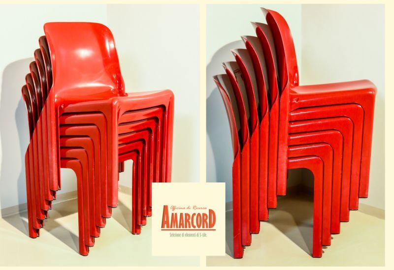 AMARCORD offerta sedie selene vico magistretti artemide - promozione set sedie anni 60 vintage