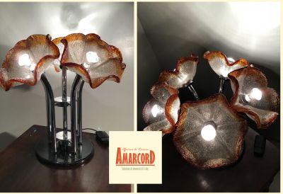 amarcord offerta lampada originale ibisco da terra promozione lampadario anni 70 da tavolo