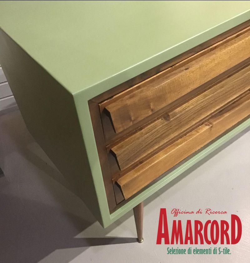 AMARCORD offerta cassettiera in stile danese - promozione arredamento anni 50 come nuovo