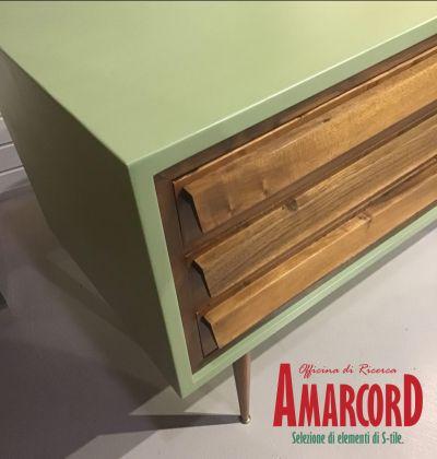 amarcord offerta cassettiera in stile danese promozione arredamento anni 50 come nuovo