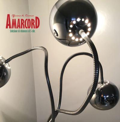 amarcord offerta lampada da pavimento reggiani promozione arredamento raro anni 70