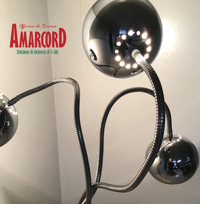 AMARCORD offerta lampada da pavimento reggiani - promozione arredamento raro anni 70