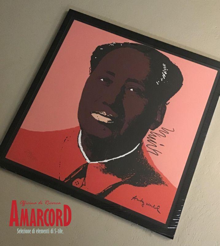 AMARCORD offerta litografia mao andy warhol edizione limitata - carnegie museum of art