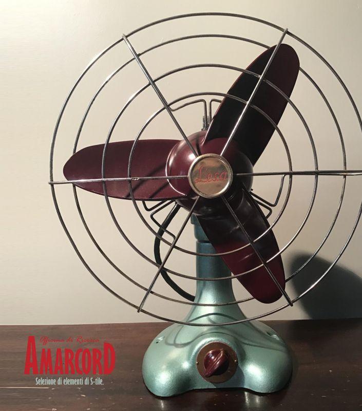 AMARCORD offerta ventilatore lesa anni 50 - elettrodomestici vintage restaurati funzionanti