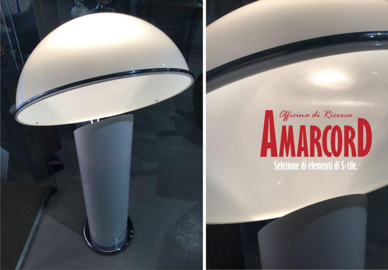 AMARCORD offerta lampada da terra anni 70 - promozione complementi d arredo vintage