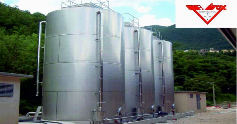 m.p inox costruzioni offerta serbatoi - occasione impianti acciaio inox