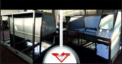m p inox costruzioni offerta carpenteria leggera banchi prova occasione camere climatiche