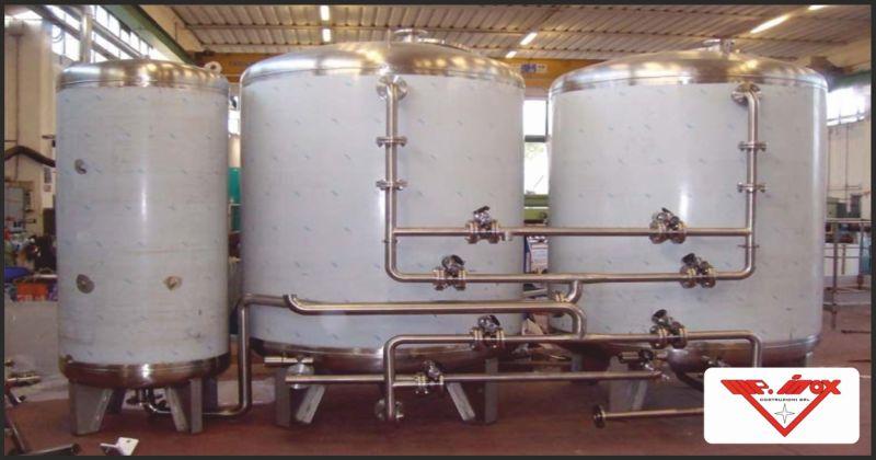 m.p. inox costruzioni offerta impianti di depurazione acque - occasione costruzione depuratori