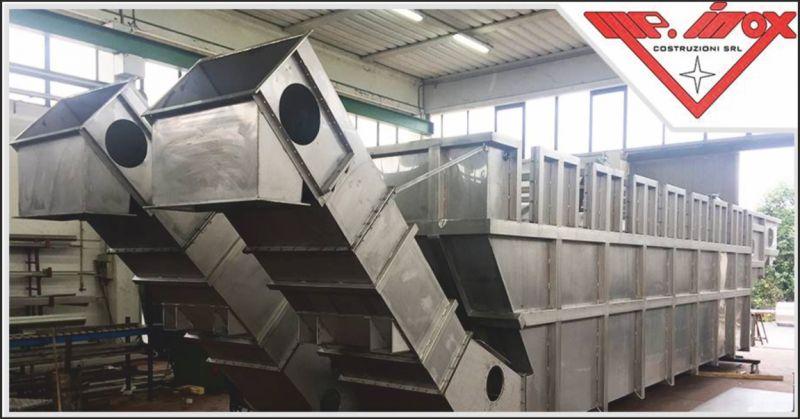 mp inox offerta carpenteria per riciclaggio - occasione carpenteria inox per materie plastiche