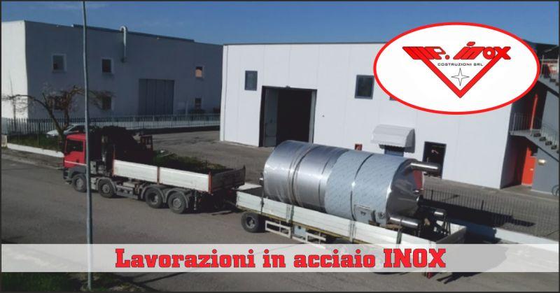 m.p inox offerta impianti in acciaio inox - occasione serbatoi industriali perugia