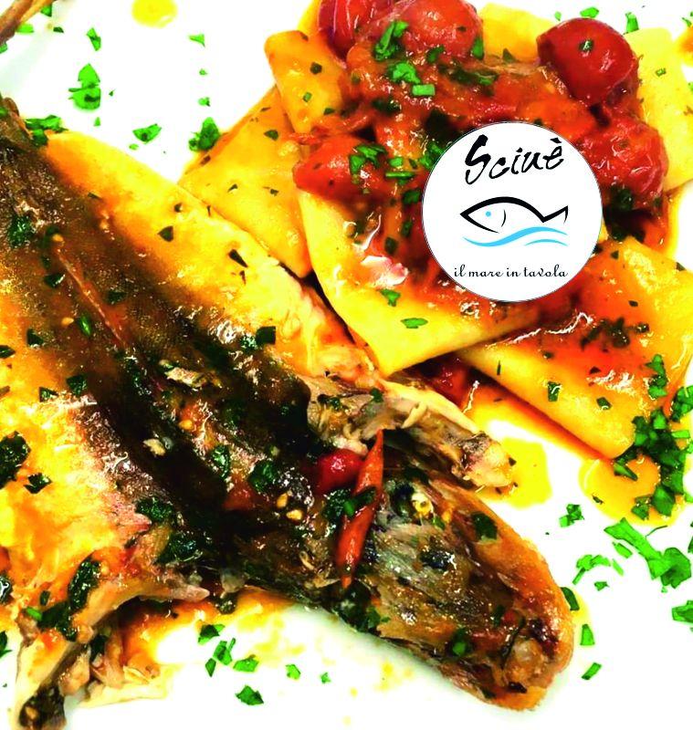 RISTORANTE SCIUE' offerta secondi di pesce gallinella - promozione ristorante specialita pesce