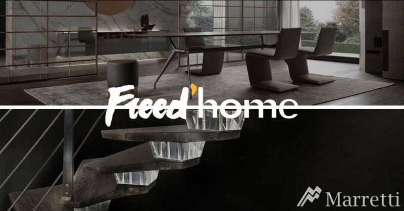 Freed'home Angebot Made in Italy Handwerkstreppen - Gebraucht und Made in Italy Möbel Rimadesio