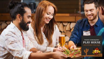 offerta pizzeria location compleanno bari promo location festa western hamburgeria modugno