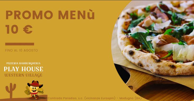 Offerta cena in pizzeria bari - promozione pizzeria bari - promozione cena in pizzeria modugno